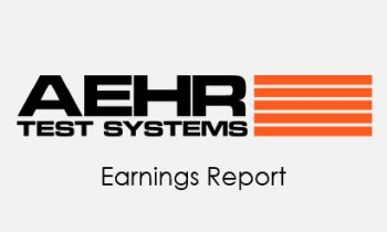 aehr test systems reports first quarter fiscal 2019 financial results